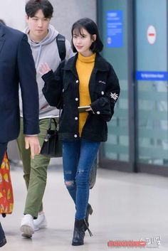 IU 170109 Incheon Airport