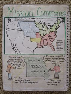 Missouri compromise good idea
