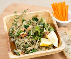 Warm French Lentil Salad : The Humane Society of the United States