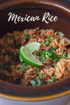Mexican Rice is packed full of Mexican flavours we all know and love tomato lime cumin chilli garlic coriander and comes together super quick in one pot using pantry ingredients minutes start to finish) Best Side Dishes, Side Dish Recipes, Dinner Recipes, Mexican Rice Recipes, Artichoke Recipes, Easy Summer Meals, Asparagus Recipe, Spring Recipes, Vegetable Side Dishes