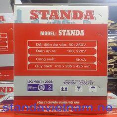 Ổn áp 5KVA | Standa 5000VA được sử dụng cho những hộ gia đình nhỏ có ít thiết bị…