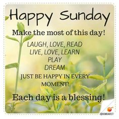 happy sunday happy sunday good morning