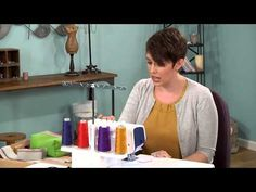 604-1 Amy Alan has a serger lesson on It's Sew Easy - YouTube