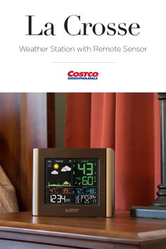 With a Basic Weather Station from La Crosse Technology your necessary weather data will be there at a glance. Costco Membership, Weather Data, La Crosse, Whats New, Spaces, Tecnologia