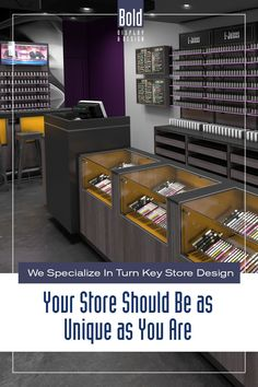 We create custom store designs at stock fixture pricing. We take your store floor plan, design a full color store rendering like the pin images. Then quote and manufacturer your unique store, it's easy! Drop us a email and we will get in contact with you. Visit our dedicated sites: bolddisplaycbd.com bolddisplayvape.com #storedesign #retailstoredesign #Vapestoredesign #instoredesign #storelayout #retailstoreinterior #wellnessstoredesign #storefixturedisplays Vape Store Design, Retail Store Design, Store Layout, Plan Design, Pin Image, Floor Plans, Quote, Drop, Flooring