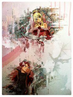 Fairy Tail Lucy Heartfilia & Natsu Dragneel