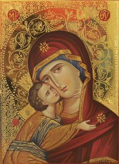 Mother Mary, Mother And Child, Holy Mary, Faith In Love, Blessed Virgin Mary, Orthodox Icons, Blessed Mother, Our Lady, Madonna