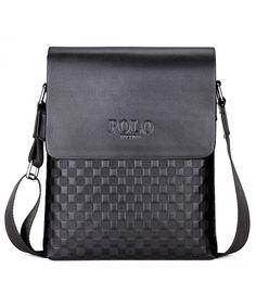 Business Man Bag Classic Plaid Design Men Messenger Bag Shoulder Bag -  black - CL18259DYYI. Vintage Messenger BagMessenger Bag MenBagoFashion  BagsLeather ... 0bcdf22d8b4ee