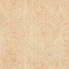 Drapes Crop Art Circles Bittersweet  Fabric No: 5006003  Swatch No: 39