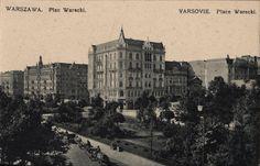 Warszawa przedwojenna - plac Warecki
