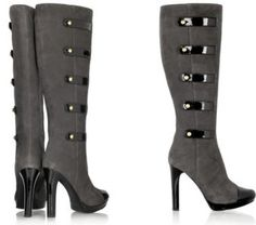 Military-esque Knee High Boots