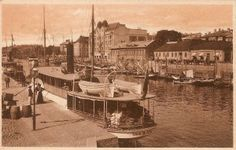 Postcard view of harbour at Abo, in Finland, sent by Bert Sivell 1919.