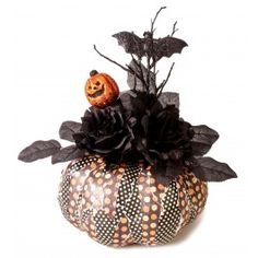Another Goth Idea - Nicole™ Crafts Decoupage Fall Pumpkin