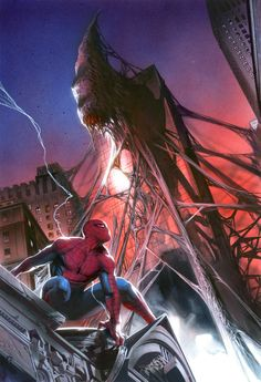 #Spiderman #Fan #Art. (Spider-man) By: Gabrielle Dell' Otto. (THE * 5 * STÅR * ÅWARD * OF: * AW YEAH, IT'S MAJOR ÅWESOMENESS!!!™)[THANK Ü 4 PINNING!!!<·><]<©>ÅÅÅ+(OB4E)  https://s-media-cache-ak0.pinimg.com/474x/60/9e/a0/609ea0e819962c8732fef5f5f73abc4b.jpg