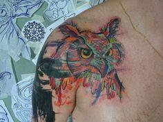 12 tatuadores brasileiros experts em sketches e aquarelas - André Cruz