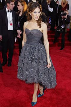Idol doesn't even begin to describe my undying love for SJP.  One of my favorite looks of all time