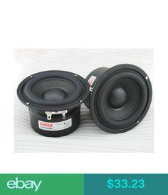 "Home Speakers & Subwoofers 3.5"" Inch 4 6 8 30W Hifi Audio Speaker Woofer Subwoofer Bass Horn Loudspeaker #ebay #Electronics"