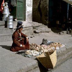 Vegetable Seller - Leh, Ladakh