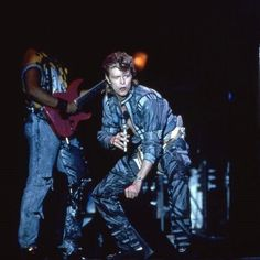 "vezzipuss.tumblr.com — David Bowie, ""Glass Spider Tour"", Circa 87"