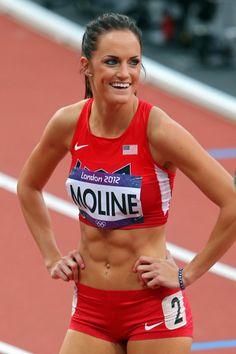 georganne moline USA women's track and field!