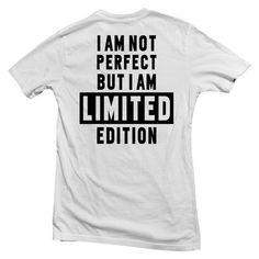 i am not perfect shirt back