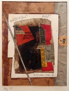 Kurt Schwitters collage