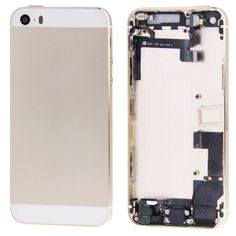 [USD25.99] [EUR24.20] [GBP18.70] Full Assembly Replacement Housing Cover for iPhone 5S (Light Gold)