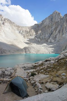 Mt. Whitney // Consultation Lake is a terrific base camp for summiting Mt. Whitney (14,505' elevation, and the highest point in the lower 48).