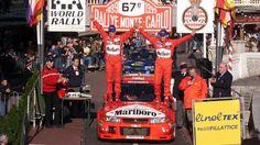 1999 MONTE CARLO RALLY - Mitsubishi Lancer Evo Vl. Entrant: Marlboro Mitsubishi Ralliart. Drivers: Tommi Makinen (FIN) / Risto Mannisemaki (FIN). Place: 1st o/a.