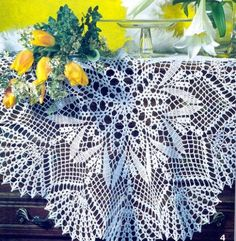 Album Archive - Carpetas y Manteles Crochet. Crochet Doily Rug, Crochet Dollies, Crochet Doily Patterns, Crochet Cross, Crochet Tablecloth, Crochet Home, Knit Or Crochet, Filet Crochet, Crochet Shawl