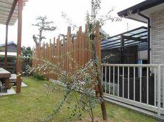 ウッドワークを中心に依頼されたお庭   施工例   浜松のエクステリア・外構なら都田建設