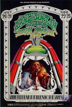 Afiches De Rock Psicodélico - Años 60-70 (Primera Parte)