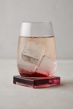 Platform Stemless Wine Glass - anthropologie.com
