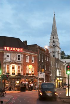 Old Truman Brewary in London's East End