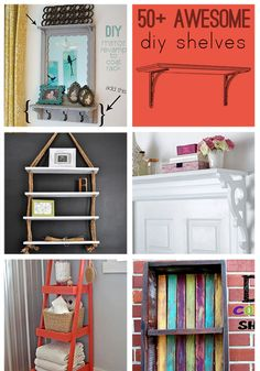 Over 50 Awesome DIY Shelves to Make — Saved By Love Creations