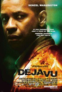 DEJA VU.  Director: Tony Scott.  Year: 2006.  Cast:  Denzel Washington, Mila Kunis and Ray Stevenso