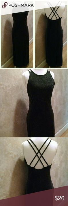 Evening/Prom Dress Made in USA 70% Nylon, 30% Metallic  Dry Clean Only Maurices Dresses Prom