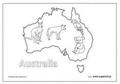 australia kolorowanki do wydruku – Szukaj wGoogle Australia, Diagram, Map, Google, Location Map, Maps