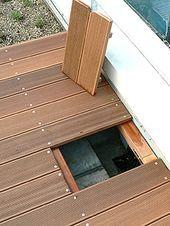under the deck,  #Deck