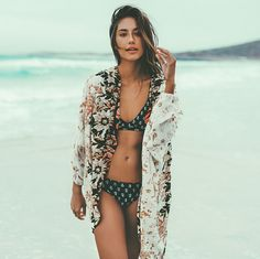 Beach days just got better with the 'In Your Arms Kimono'