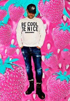 #becoolbenice #dsquared2 #fashion #luxurylifemagazine
