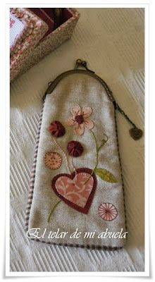 Purse Patterns, Quilted Bag, Sewing Techniques, Handmade Bags, Stencil, Hand Embroidery, Hand Sewing, Purses And Bags, Coin Purse