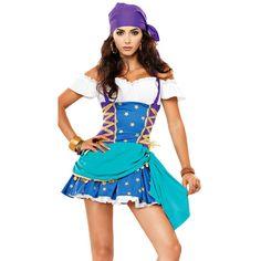 Sexy Pirate Halloween Costume