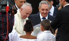 Minutes after arrival in Havana, Francis addresses thaw in relations between the two countries in celebration of 'the victory of the culture of dialogue'