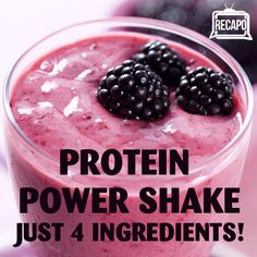Dr Oz: Pea Protein Powder Shake Recipe & Craving Challenge Weight Loss Ingredients  2 tablespoons Pea Protein Powder 1 cup Seasonal Berries 1 cup Milk 6 Ice Cubes