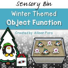 Winter Themed Object Function FREE