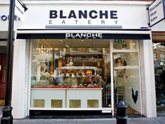 Blanche Eatery | London | The best vintage places and things that you want to see with an industrial style. #design #vintage #industrial | See more suggestions at www.vintageindustrialstyle.com
