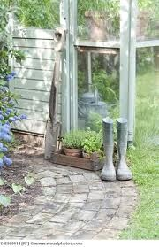 If your garden boots/wellies are a bit dirty & dusty, - Good for you. A good days' work has been done......................