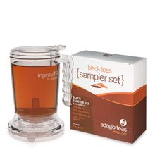 Tea - ingenuitea - By Adagio Tea.  I Love this for steeping loose leaf teas!!!! Set ontop of your cup and a valve at the base releases and tea flows into your cup or container - ingenious!