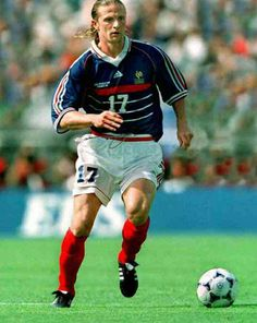Emmanuel Petit of Arsenal   France in action at the 1998 World Cup Finals.  1998 a4a1fc46b07